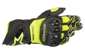 Alpinestars GP Pro R3 Glove Black Fluo Yellow